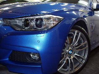 BMW アクティブハイブリッド3のコーティング
